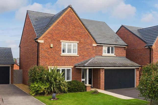 Thumbnail Detached house for sale in Plot 71, Wepre Green, Deeside