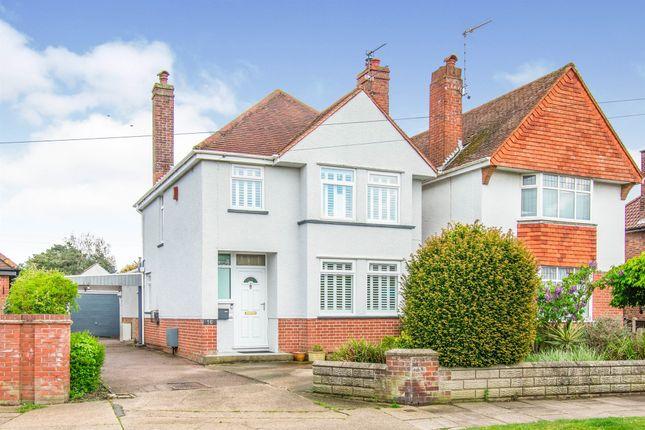Thumbnail Detached house for sale in Gunton Church Lane, Lowestoft