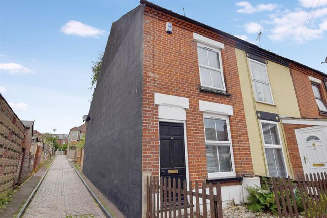 Thumbnail End terrace house for sale in Bell Road, Norwich