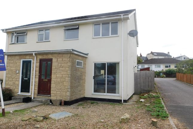 Thumbnail Semi-detached house to rent in Willhayes Park, Axminster