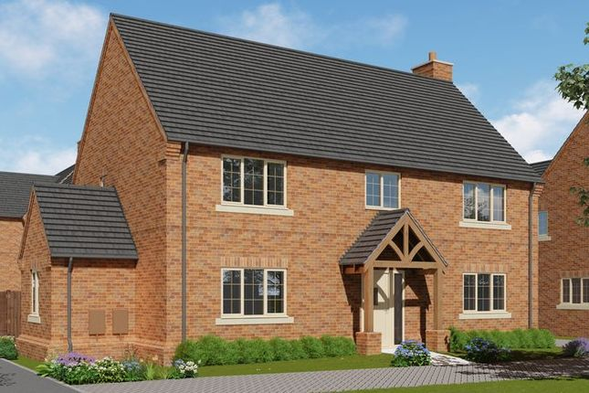 Thumbnail Detached house for sale in Brixworth Road, Holcot, Northampton