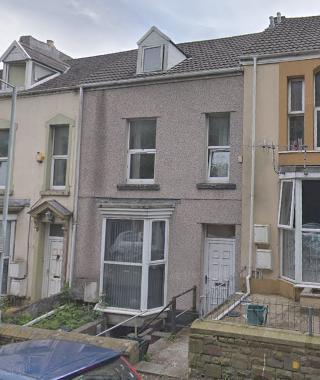 Thumbnail Flat to rent in Carlton Terrace, Mount Pleasant Swansea