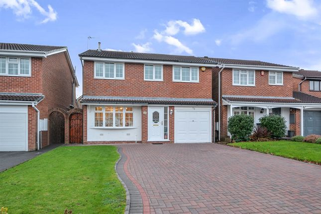 Thumbnail Detached house for sale in Turchill Drive, Walmley, Sutton Coldfield