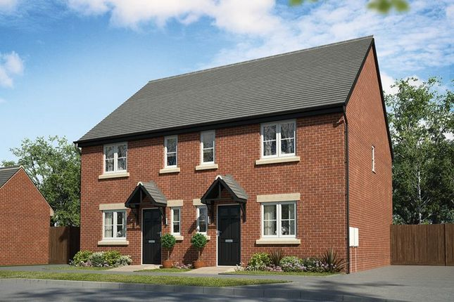 Thumbnail Semi-detached house for sale in Sovereign Chase, Tregwilym Road, Rogerstone
