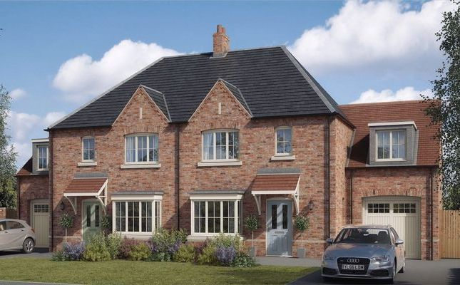 Thumbnail Semi-detached house for sale in The Coleby, Lodge Lane, Nettleham