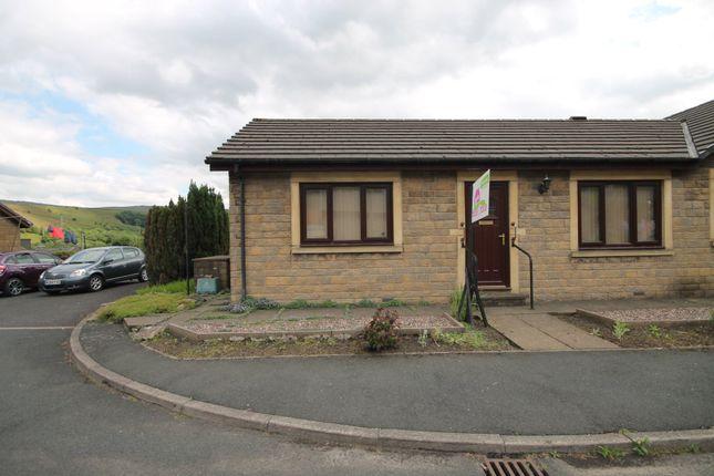 Thumbnail Semi-detached bungalow for sale in Phoenix Court, Todmorden