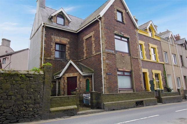 Thumbnail End terrace house for sale in St Helens Terrace, Caernarfon, Gwynedd