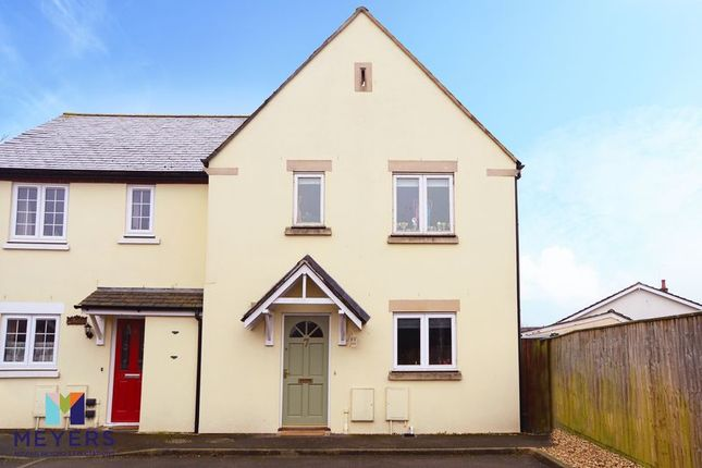 Thumbnail Semi-detached house for sale in Locks Court, Wool BH20.
