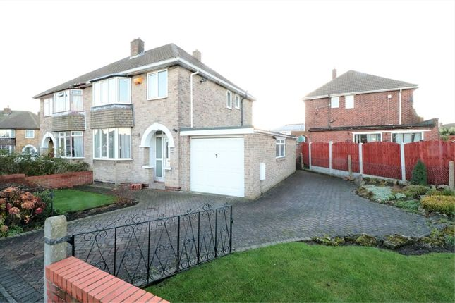 Thumbnail Semi-detached house for sale in 54 Cresswell Road, Swinton, Mexborough, South Yorkshire, uk