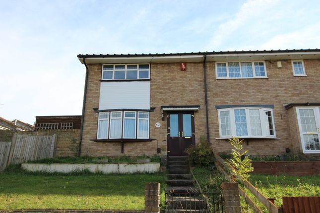 Thumbnail Terraced house for sale in Lorton Close, Gravesend, Kent