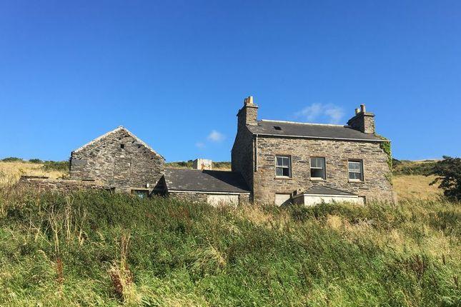 Thumbnail Land for sale in Main Road, Glen Maye, Isle Of Man