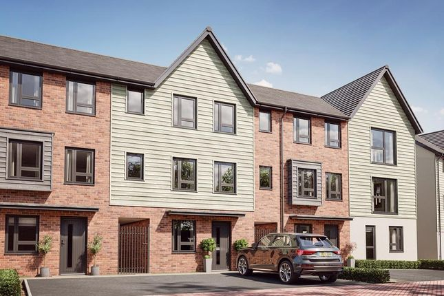 """Thumbnail Terraced house for sale in """"Haversham"""" at Woodham Road, Barry"""