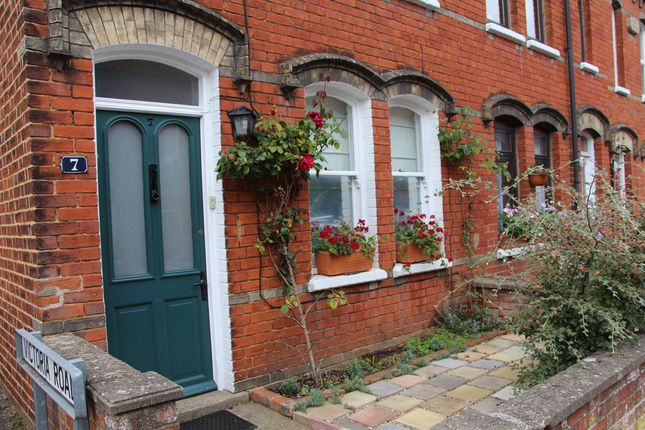 Thumbnail End terrace house to rent in Woodbridge