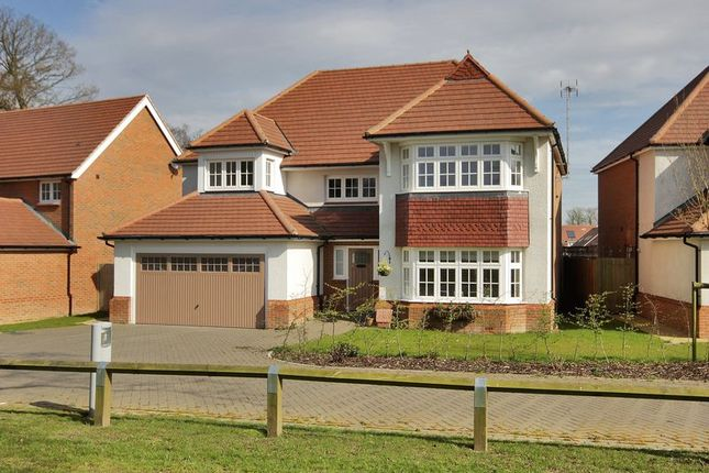Thumbnail Detached house for sale in The Furrows, Crawley Down, West Sussex