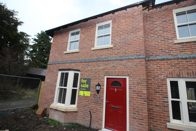 Thumbnail End terrace house for sale in Mill Street, Wem, Shrewsbury