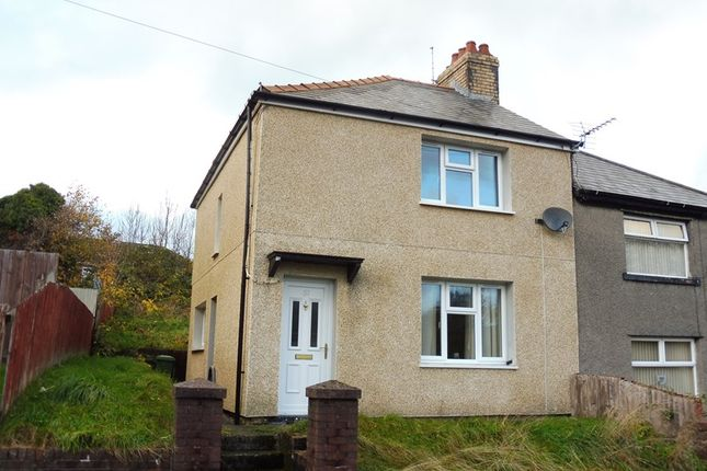 Thumbnail Semi-detached house for sale in Trefelin, Trecynon, Aberdare