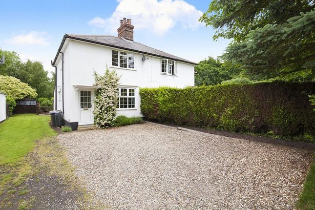 Thumbnail Semi-detached house for sale in Patmore Heath, Nr Albury, Hertfordshire