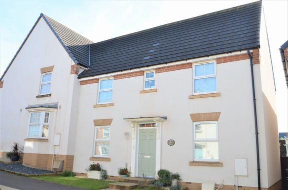 Thumbnail Semi-detached house for sale in Cambridge Way, Cullompton