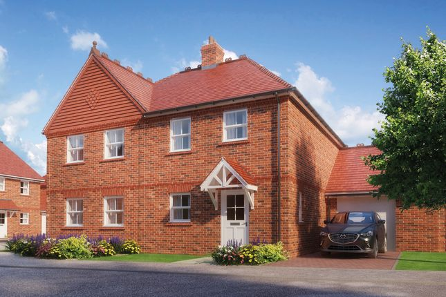 Thumbnail Semi-detached house for sale in Highfield, Off Baldways Close, Wingrave, Aylesbury