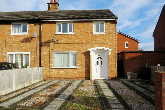 Thumbnail End terrace house for sale in Aberdaron Drive, Blacon, Chester