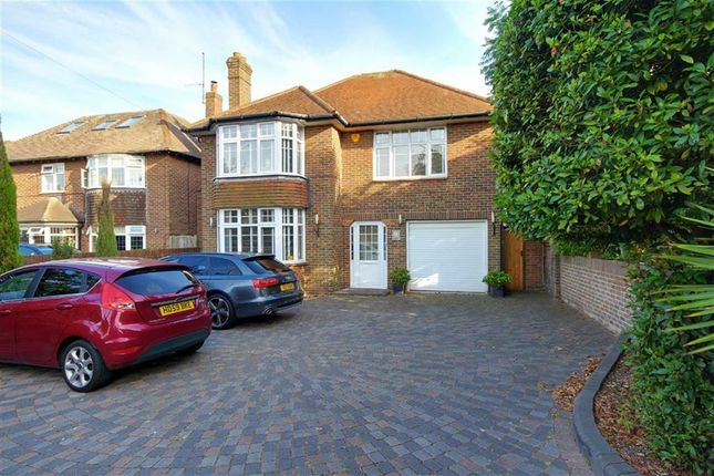 Thumbnail Detached house for sale in Upper Brighton Road, Broadwater, Worthing, West Sussex