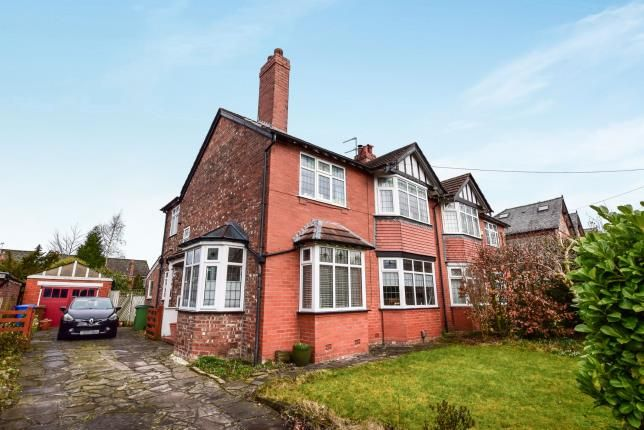 Thumbnail Semi-detached house for sale in Torkington Road, Hazel Grove, Stockport, Cheshire