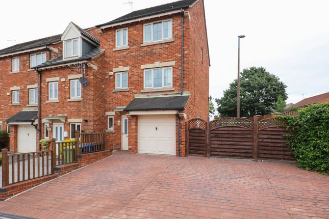 Thumbnail Town house for sale in Martindale Close, Staveley, Chesterfield