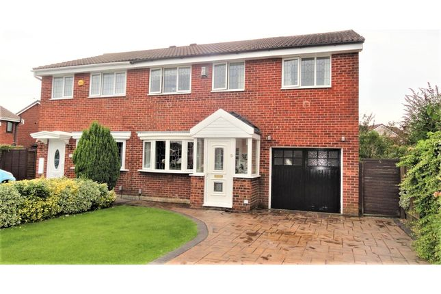 Thumbnail Semi-detached house for sale in Jaywood Close, Hartlepool