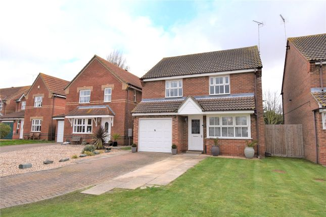 Thumbnail Detached house for sale in Vienna Close, Dovercourt, Harwich, Essex