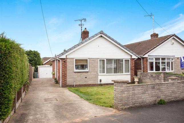 Thumbnail Detached bungalow for sale in Perth Close, Mansfield Woodhouse, Mansfield