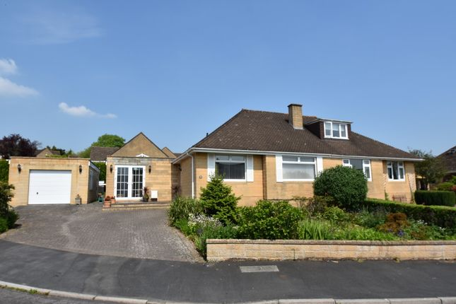 Thumbnail Semi-detached bungalow for sale in Warleigh Drive, Batheaston, Bath