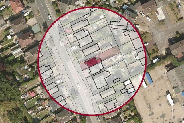 Aerial Map of Salisbury Road, Totton, Southampton SO40