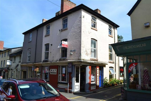 Thumbnail Maisonette for sale in 16A, Broad Street, Builth Wells, Powys