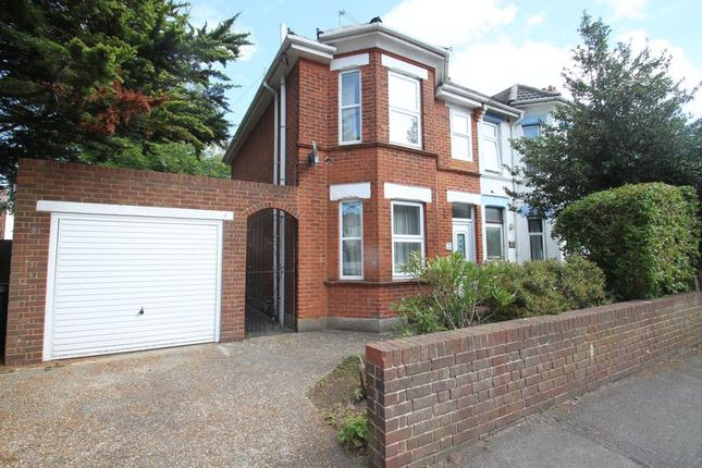 Thumbnail Semi-detached house to rent in Avon Road, Bournemouth