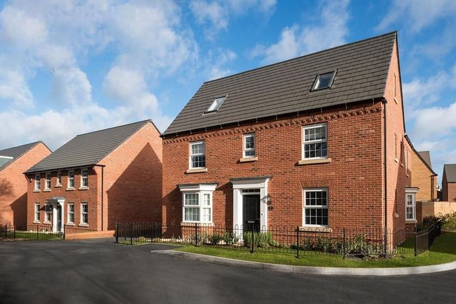 "Thumbnail Detached house for sale in ""Moorecroft"" at Huntingdon Road, Thrapston, Kettering"