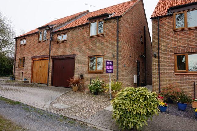 Thumbnail Semi-detached house for sale in Back Lane, Fridaythorpe