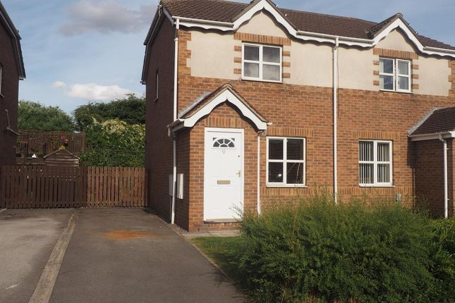 Thumbnail Semi-detached house to rent in Mast Drive, Victoria Dock, Hull, East Yorkshire