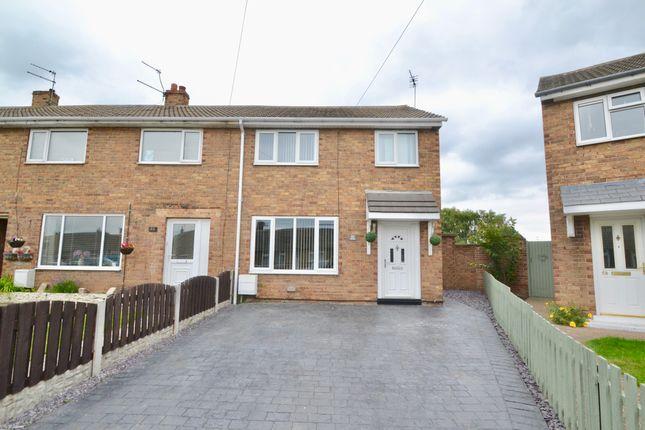 Thumbnail End terrace house to rent in Grange Avenue, Hatfield, Doncaster