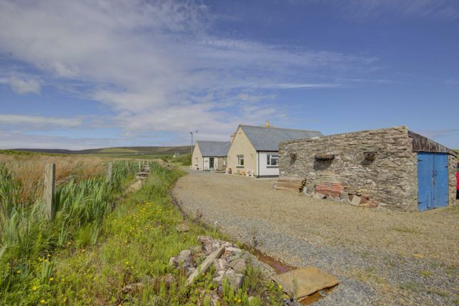 Thumbnail Detached bungalow for sale in Faroe, Rousay, Orkney
