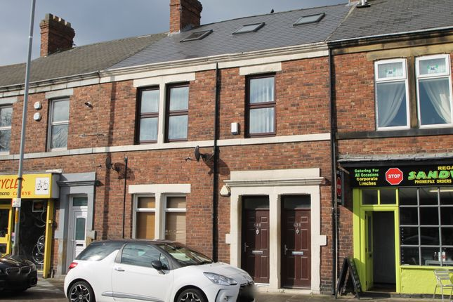 Thumbnail Maisonette to rent in Durham Road, Low Fell, Gateshead, Tyne And Wear