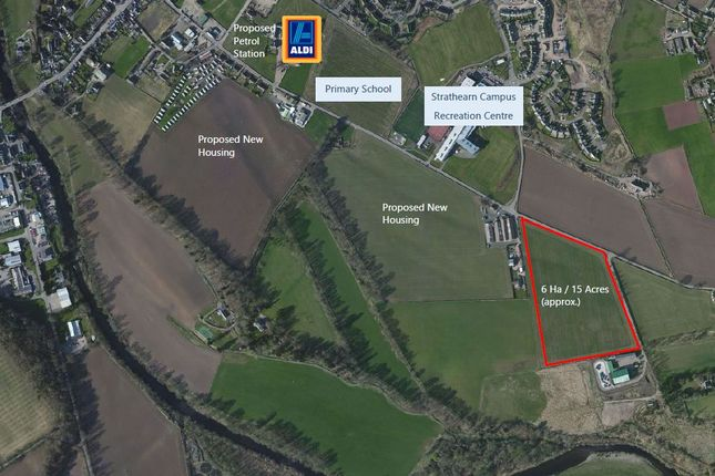 Thumbnail Land for sale in Broich Road, Crieff