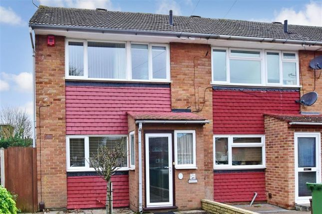 Thumbnail End terrace house for sale in Arran Close, Wallington, Surrey