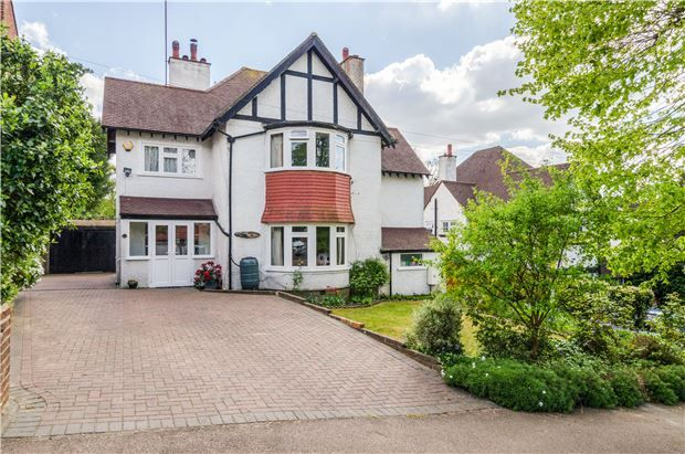 Thumbnail Detached house for sale in Burcott Road, Purley, Surrey