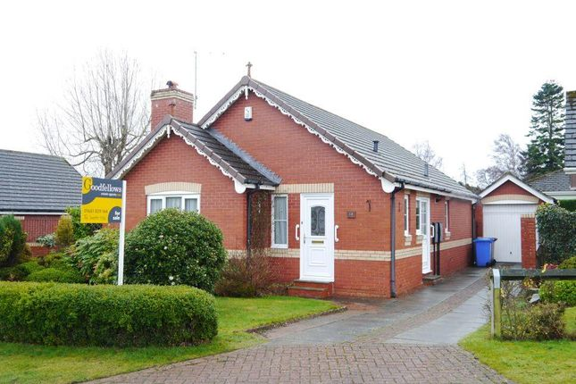 Thumbnail Detached bungalow for sale in Old Station Court, Ponteland, Newcastle Upon Tyne