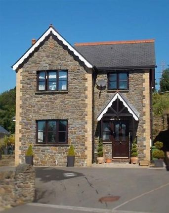 Thumbnail Detached house for sale in Glyntaff Road, Pontypridd