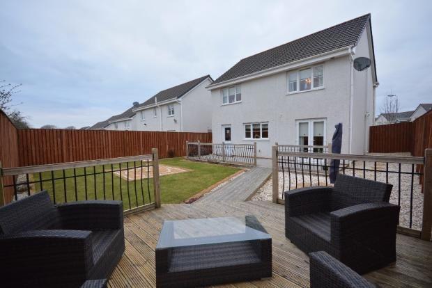 Thumbnail Detached house for sale in Stirling Crescent, Galston