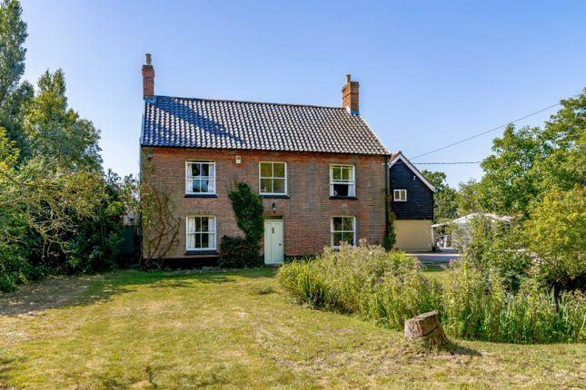 Thumbnail Detached house for sale in Saxtead Road, Framlingham, Woodbridge, Suffolk