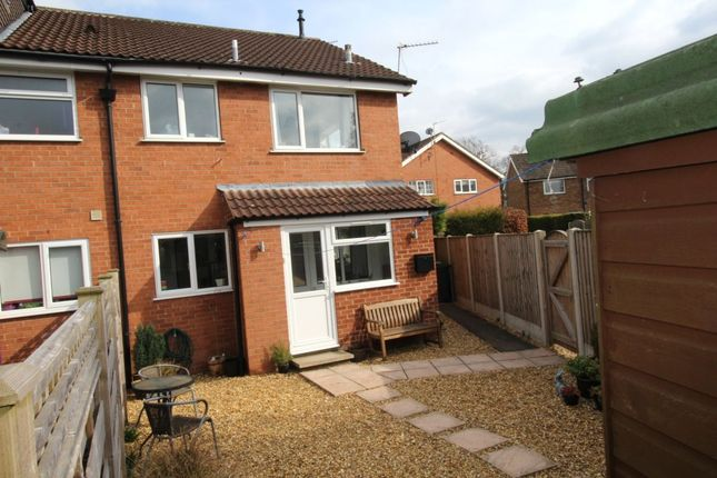 Thumbnail Semi-detached house for sale in Waincroft, Strensall, York