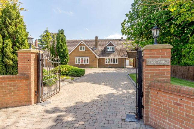 Thumbnail Detached house for sale in Field House, Station Road, North Thoresby, Grimsby