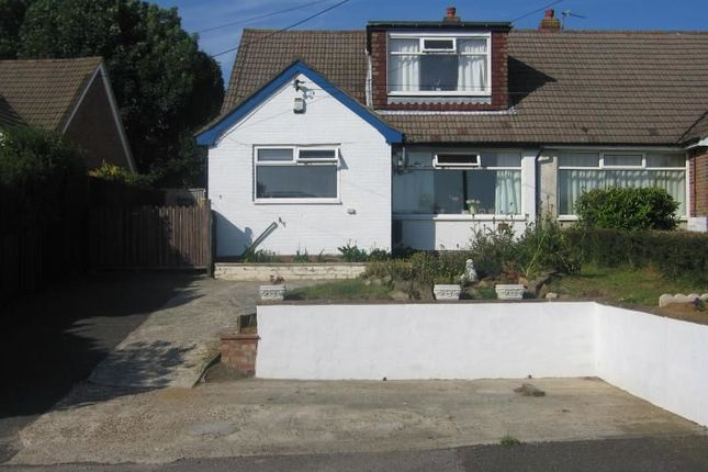 Thumbnail Semi-detached house to rent in Old Rectory Close, Hawkinge, Folkestone